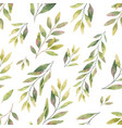 watercolor seamless pattern with silver vector image vector image