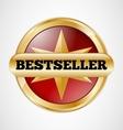 Bestseller badge vector image