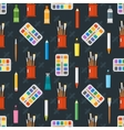 Art tools seamless pattern ector