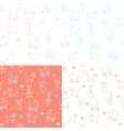 baby wallpaper print vector image vector image