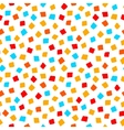 colorful red orange yellow blue square shape vector image vector image