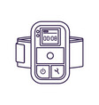 digital player isolated icon vector image vector image