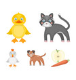entertainment farm pets and other web icon in vector image vector image