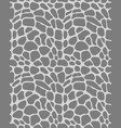 leather of giraffe vector image vector image