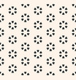 monochrome seamless pattern abstract floral vector image