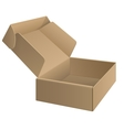 Package cardboard Box Opened vector image vector image