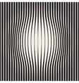 Seamless Halftone Circles Bloat Effect vector image