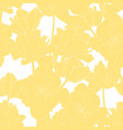 seamless vintage pattern with tulips line vector image vector image