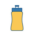 water sport bottle vector image