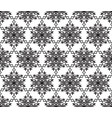 snow seamless pattern abstract winter ornament vector image