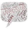 entrepreneur com 1 text background wordcloud vector image vector image