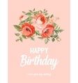 Happy birthday text lettering vector image