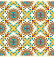 mandala texture in bright colors seamless pattern vector image vector image