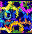 seamless texture of bright colorful and blue vector image vector image