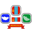 symbol of Mongolia vector image