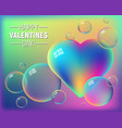 valentines day colorful abstract background vector image vector image