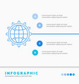world globe seo business optimization vector image