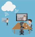 Clouds Conference vector image
