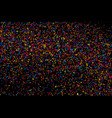 colorful explosion of confetti colored stains and vector image vector image