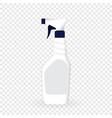 design product bottle with pulverizer template for vector image