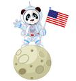 Panda Astronaut vector image