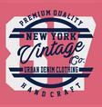 premium quality new york vector image vector image
