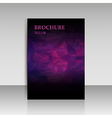 Abstract modern cover report brochure flyer design vector image vector image