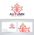 Autumn Studio vector image vector image