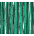 Background with a bamboo Bamboo branches stalks vector image vector image