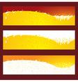 beer splash baner header element vector image vector image