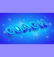 coaching 3d isometric banner template vector image