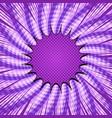 comic burst purple template