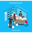 Fashion Moods 07 People Isometric vector image vector image