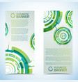 freshness vertical banners set vector image vector image
