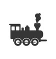 locomotive steam train icon design template vector image vector image