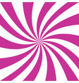 pink and white spiral design background vector image vector image