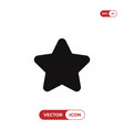star icon vector image vector image