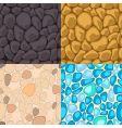 seamless stone vector image