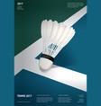 badminton championship poster