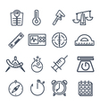 Measurement tools icon pack