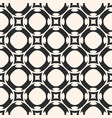 simple monochrome geometric ornament seamless vector image vector image