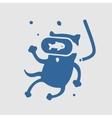 Symbol Cat Diver vector image vector image