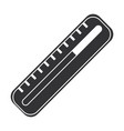 termometer medical isolated icon vector image