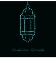 Ramadan Kareem light vector image