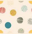 circle circle background retro pattern of vector image