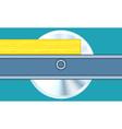 Circular sawing vector image