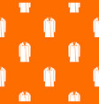 coat pattern seamless vector image vector image