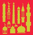 Mosque 3 vector image vector image