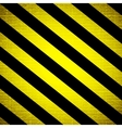 Warning stripe background vector image vector image
