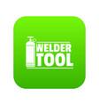 Welder tool icon green